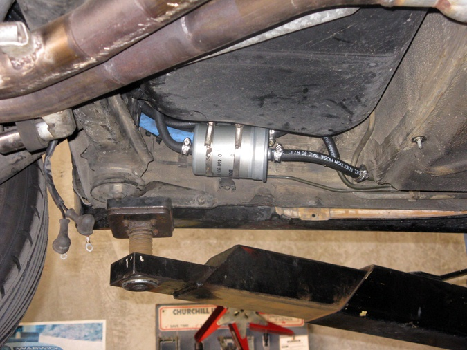 2007 bmw fuel filter location my turbo e30 m3. - page 7